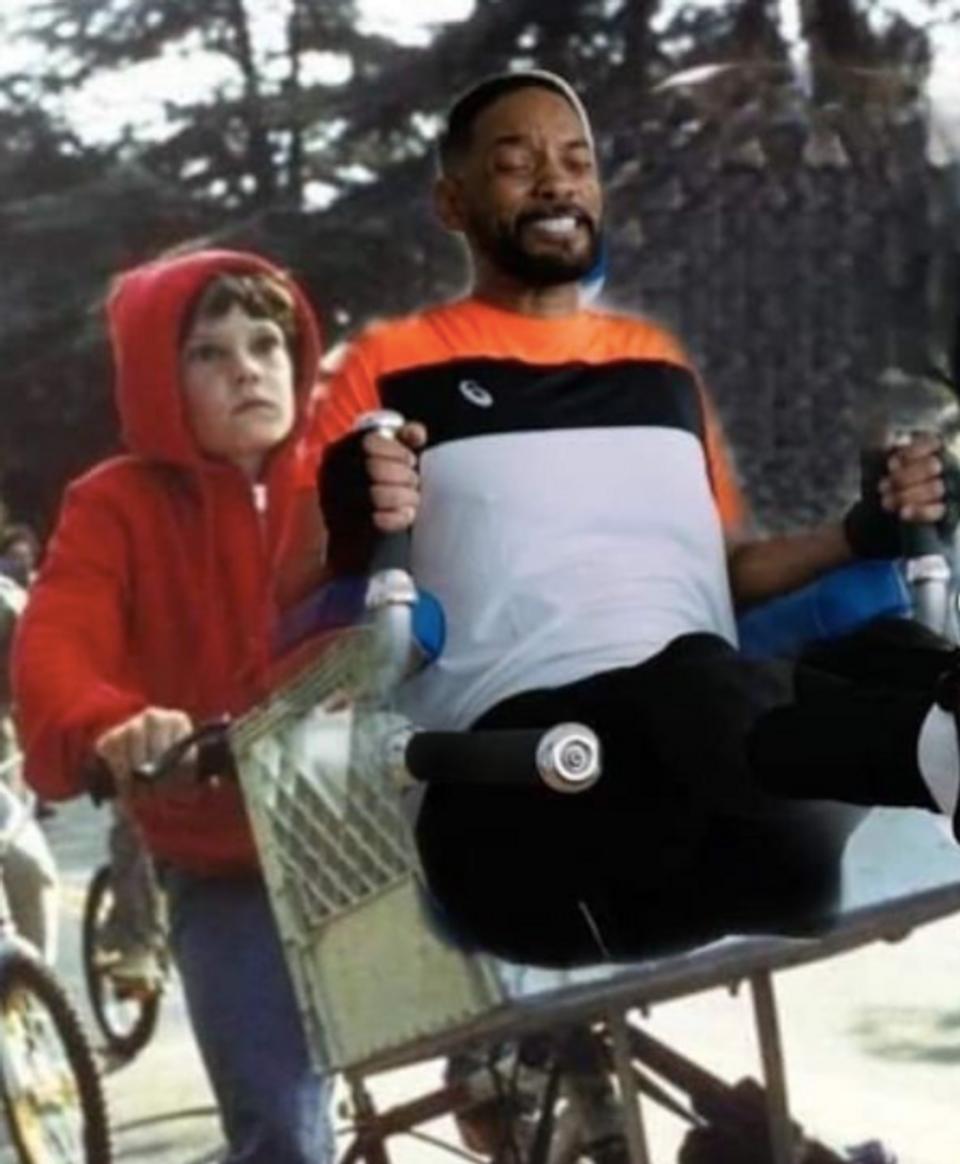 Will Smith v meme ako ET