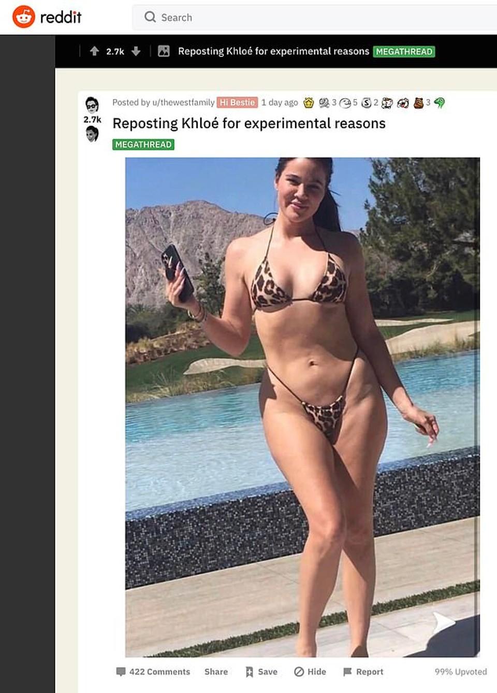 Khloe Kardashian bez retuše