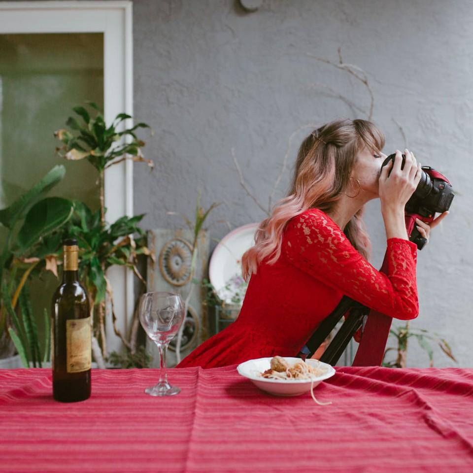 Na Valentína s foťákom