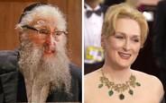 Meryl Streep ako The Rabbi v mini sérii Angels in America