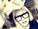 Madonna a jej nové tetovanie (3)