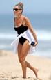 Sarah Jessica Parker s manželom na pláži