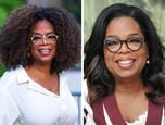 Oprah Winfrey má typické černošské nádherne afro