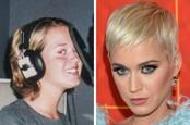 Kate Perry vyrástala s svetloorieškovými vlasmi.