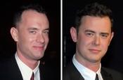 Tom Hanks a jeho syn Colin Hanks vo veku 30 rokov