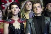Katniss and Peeta (The Hunger Games, 2012–2015)