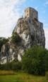 Hrad Beckov od Petry z Nitrianskej Blatnice