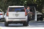 Ben odchádza z auta JLo.