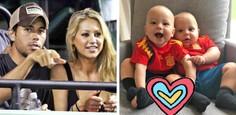 Anna Kournikova a Enrique Iglesias - dve deti