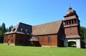 Artikulárny drevený kostol vo Svätom Kríži od Ľuboša z Martina