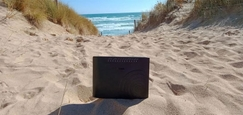 Internetový modem na dovolenke