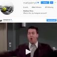 Mathew Perry sa pridal na Instragram