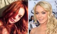 Lindsay Lohan bola ryšavka
