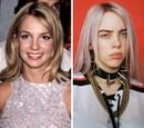 Britney Spears a Billie Eilish ako 17-násťročné