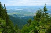 Výhľad z vrchu Poludnica od Ľuboša z Martina