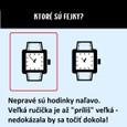 hodinky riešenie