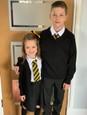Lucie s bratom