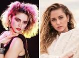 Madonna a Miley Cyrus vo veku 26 rokov
