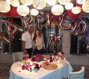 Dwayne s manželkou Lauren
