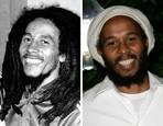 Bob Marley a jeho syn Ziggy Marley, keď mali tridsiatku na krku